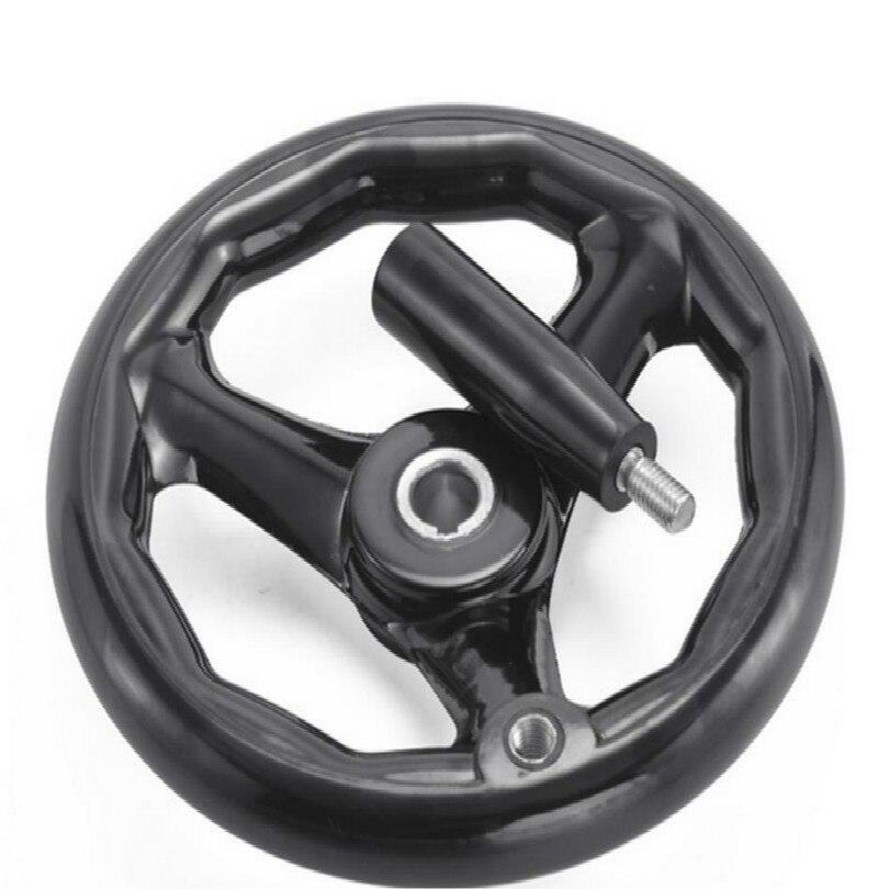 6mm nut handrad flugzeug Schleifen maschine hand rad revolving griff Oberfläche schleifen maschine handrad handwiel revolver grip - 2