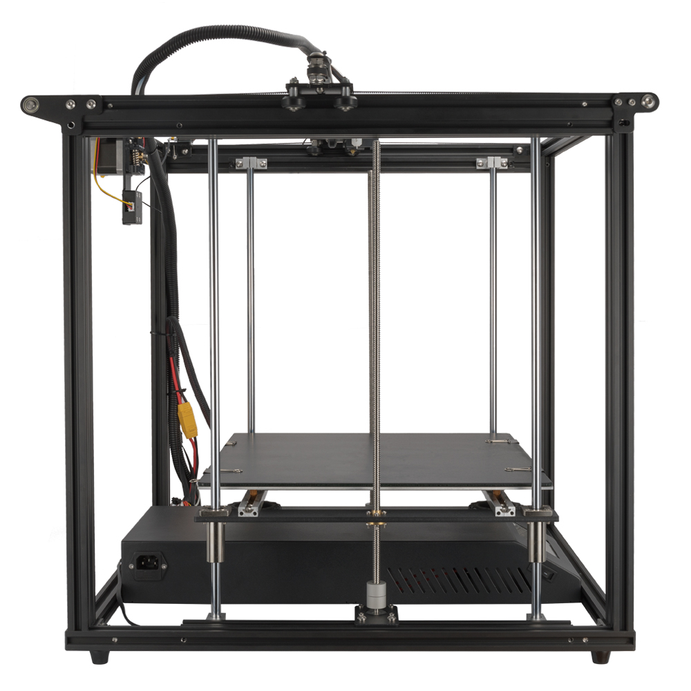 Image 4 - Ender 5 Plus 3D printer High precision Large size 350*350*400 printer 3D Auto leveling,Dual Z axis Power off resume Creality 3D