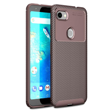Creative mobile phone case beetle TPU shell FOR: Google pixel 3a XL carbon fiber shatter-resistant sleeve business dedicated