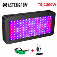 Full spectrum 1200W 900W 600W Double Switch LED grow light for Indoor Greenhouse grow tent plants grow led with Veg/Bloom modes