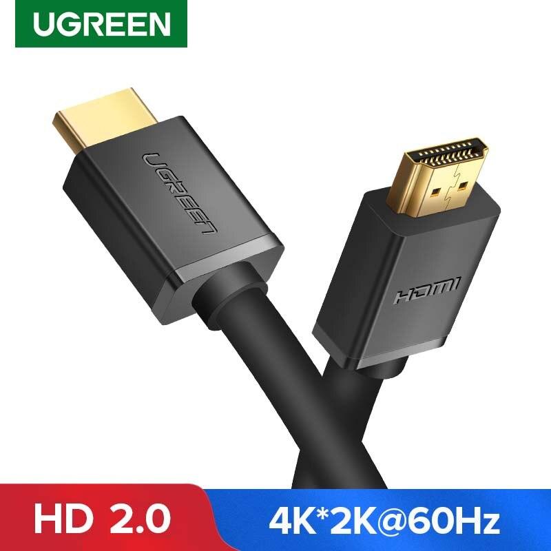 Кабель Ugreen HDMI совместимый с 2,0 для Xiaomi Mi Box Apple TV PS4 сплиттер переключатель 4K HDMI совместимый цифровой кабель 1080P 3D