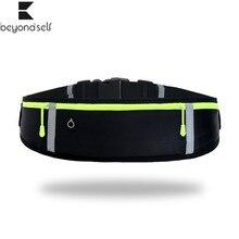 Jogging-Belt Back-Pack Yoga Running Waist-Band-Bag Pocket Cycling Fitness Outdoor Sport
