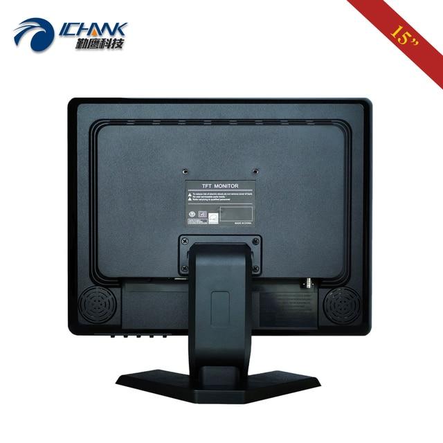"ZB150JN-59/15"" inch 1024x768 VGA HDMI Built-in Speaker Desktop VESA Wall-mount PC Monitor USB Port Pluggable U-disk Video Player"