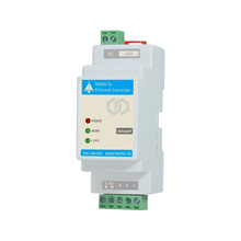 Serial Module RS485 to Ethernet Converter RJ45 Networking Communication DIN-Rail Modbus RTU to TCP image
