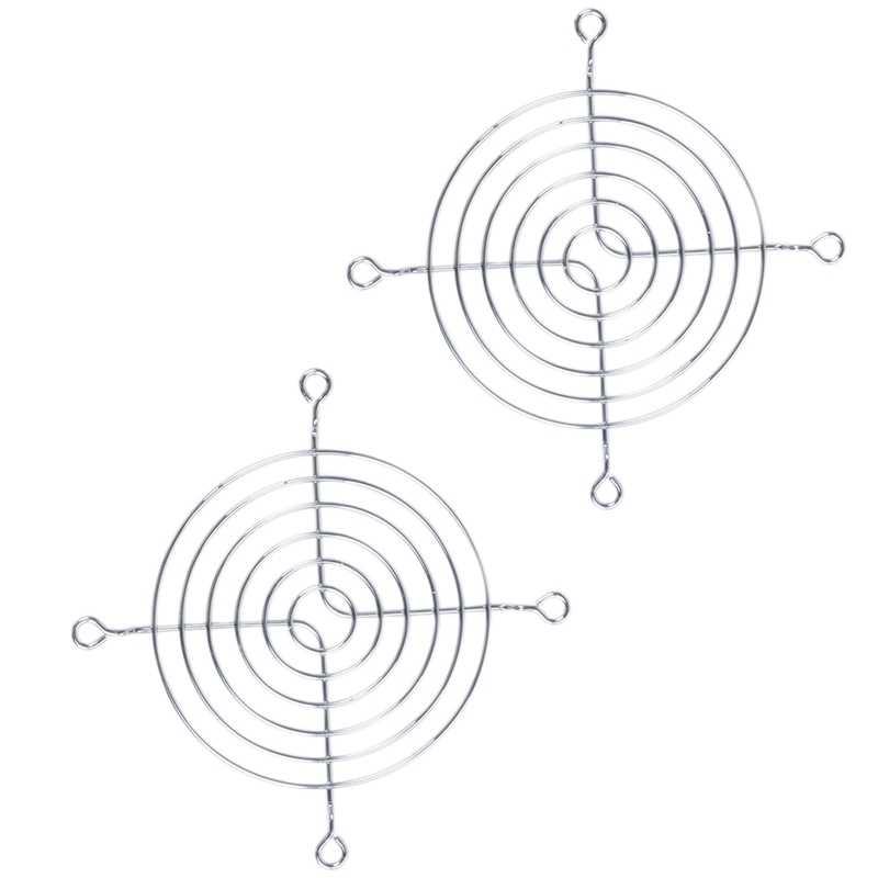 2 X Metallo Filo di Protezione per Le Dita di Protezione Griglia 90 Millimetri Pc Ventola di Raffreddamento