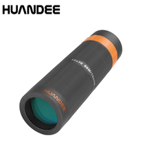 Buy 2019 HUANDEE Powerful 10X36 HD Full Nitrogen Waterproof Monocular Telescope Bak4 Prism Binoculars Telescope With Phone Adapter directly from merchant!