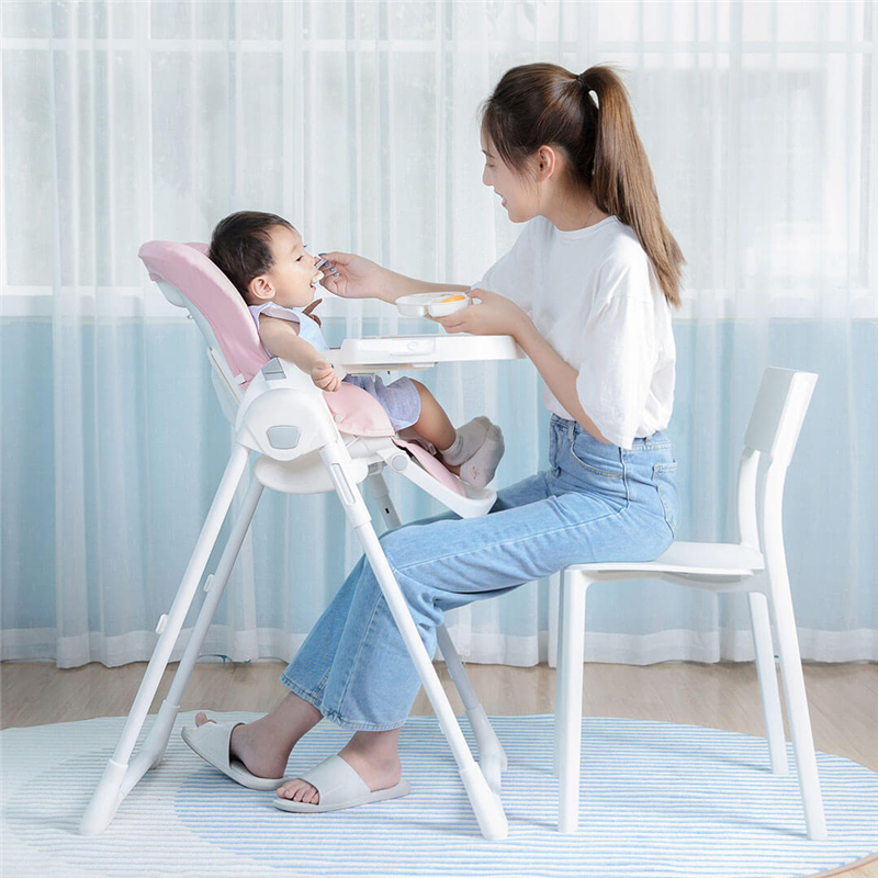 Baby Dining Chair Multifunctional Collapsible Portable Children's Table Booster Learning Sitting Seat Chair