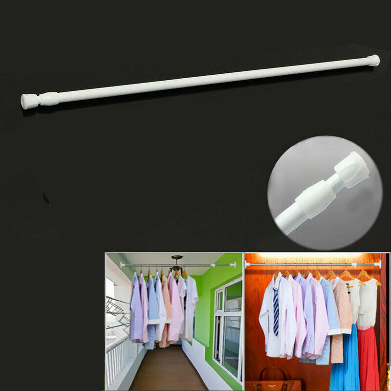 2020 New Brand And High Quality Adjustable Retractable Shower Curtain Hanging Rod Bathroom Window Tension Pole