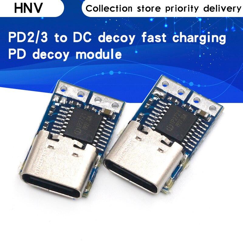 PD манок модуль PD23.0 к DC триггер кабель-удлинитель для QC4 зарядное устройство 9V 12V 15V 20V