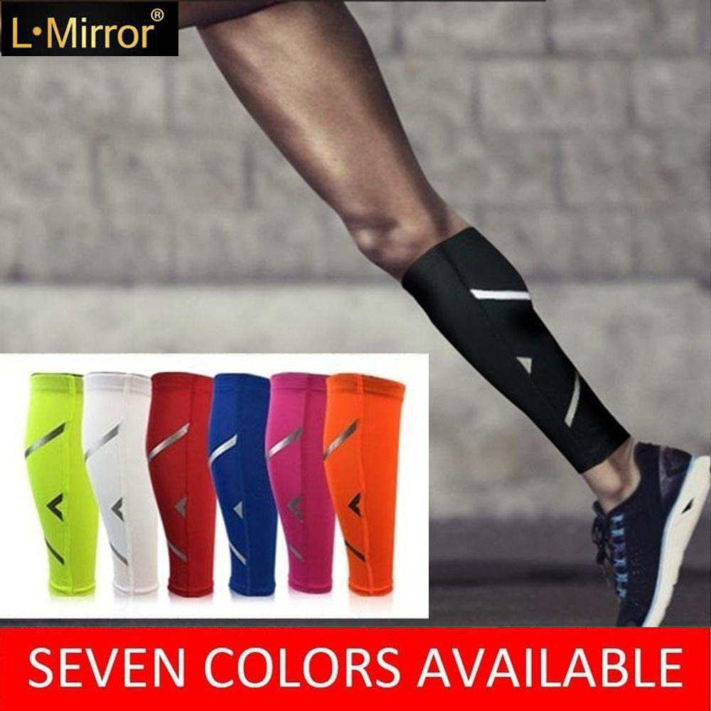 L.Mirror 1Pcs Calf Compression Sleeve For Men Women And Runners - Helps Shin Splint & Calf Pain Relief Leg Compression Sleeves
