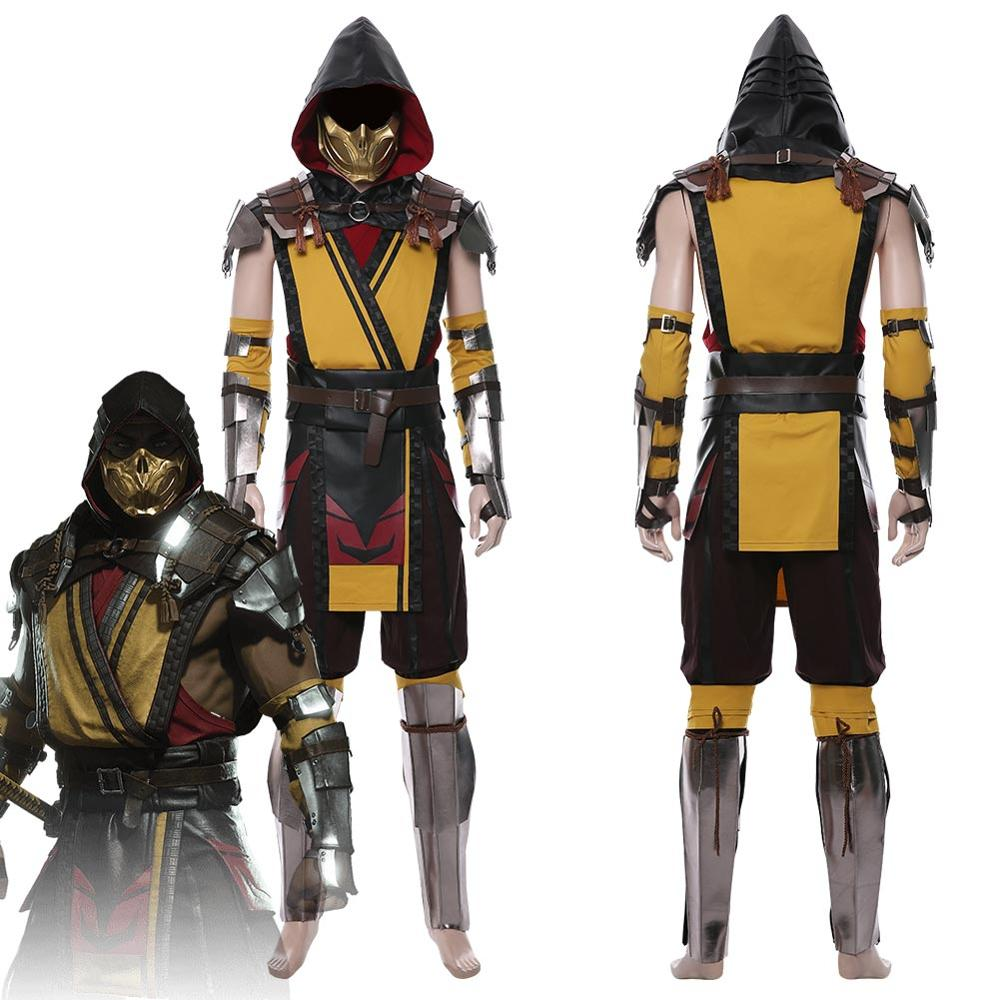 Scorpion Cosplay Costume Uniform Suit For Adult Men Women Halloween Carnival Costumes