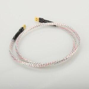 Image 5 - Hifi Nordost Valhalla Top bewertet Versilbert + schild USB Kabel Hohe Qualität Typ A zu Typ B Hifi daten Kabel Für DAC