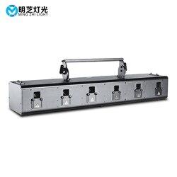 Mingzhi 6*2.5W RGB W pełnym kolorze laser animacyjny światło Bar projektor laserowy światło kula dyskotekowa oświetlenie imprezowe światło stroboskopowe