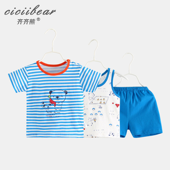 ciciibear baby summer clothes Newborn Baby Clothes suit 2020 boy boys girls cotton
