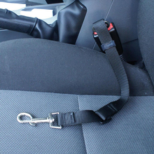 2019 Dog Restraint Lead Seat Purple Red Pet Travel Safety Harness Belt Black Adjustable Clip Car Green Blue Pink