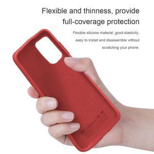 Image 3 - NILLKIN フレックス純粋なサムスンギャラクシー S20/S20 プラス/S20 ウルトラカバー液状シリコーン保護バックカバー電話ケース