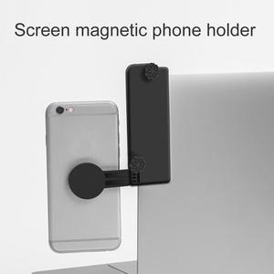 Мульти экран поддержка ноутбука Боковое крепление подключается мобильный телефон кронштейн двойной монитор дисплей клип Регулируемый тел...