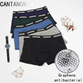 CANTANGMIN man panties cotton graphene antimicrobial underpants breathable moisture absorption boxers comfortable underwear