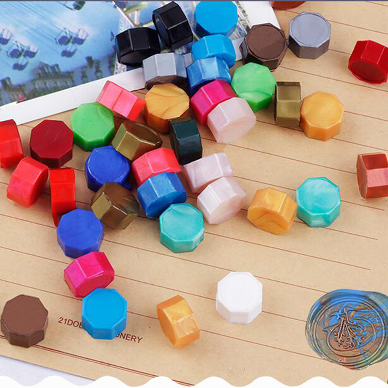 5/30/100pcs Stamp Wax Vintage Wax Seal Stamp Tablet Pill Beads For Envelope Documents Wedding Wax Seal Ancient Sealing Wax