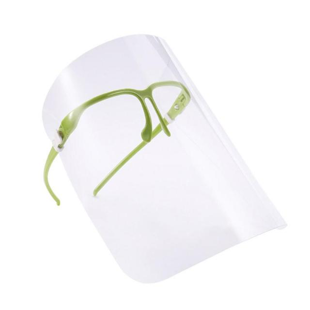 Transparent Mask Protective Face Shield Transparent PVC Anti-fog Saliva Anti Droplet Dust-proof Protect Full Face Covering Mask 1