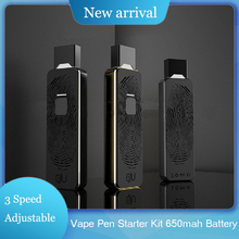New Vape Pen 650mah Battery 4 Speed Adjustable Voltage Device With Pods Metal e Cigarette Starter Kit And Vapor for JUUL/JUll 3pcs iot ibeacon biuetooth 4 0 wateproof iow energy kit beacon biuetooth moduie receiver proximity device with battery