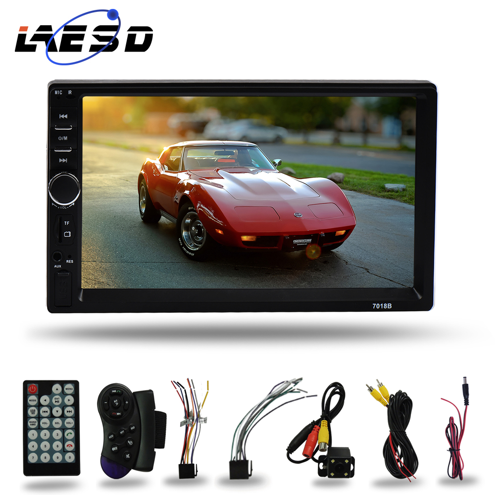 LAESD 7018b 2Din Touch Screen Auto Stereo <font><b>Audio</b></font> System 2 <font><b>Din</b></font> <font><b>Car</b></font> Radio MP4 MP5 Video Multimedia Player image