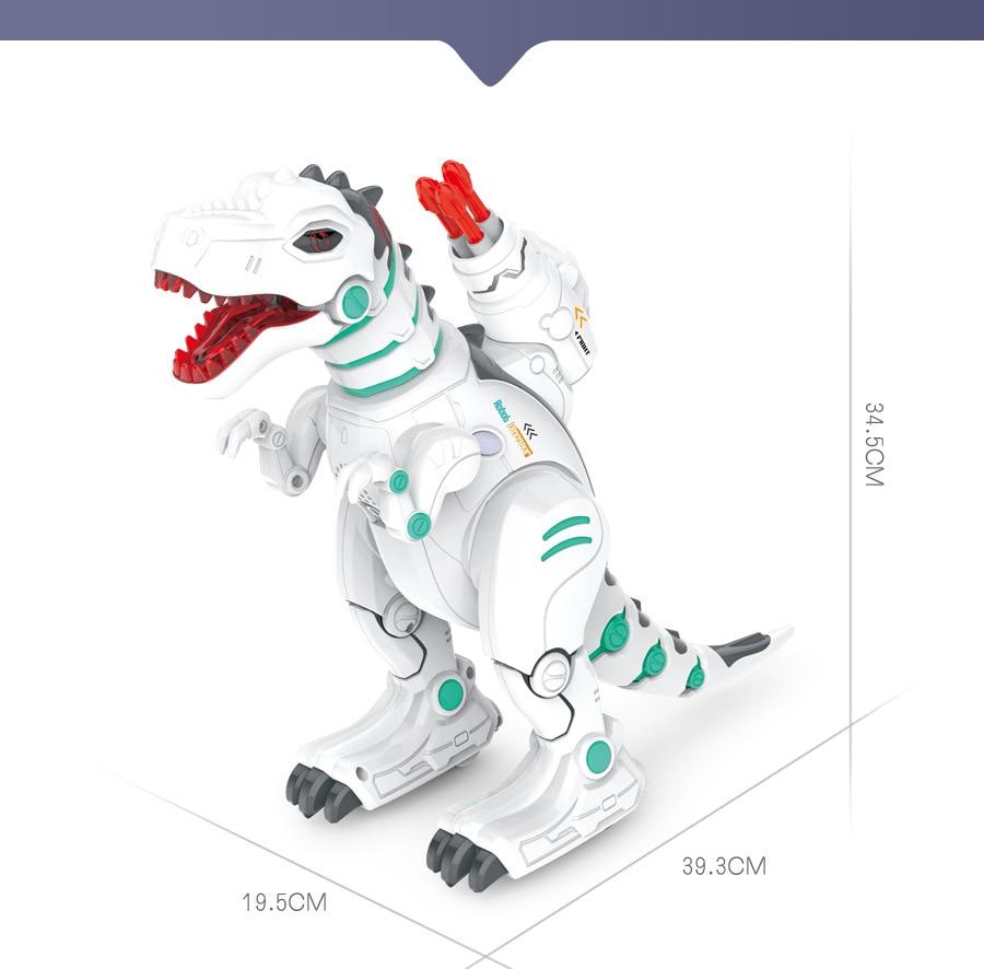 Yi Er Music Star E-Generation Remote Control Dinosaur Smart Robot Toy Programming Dancing Singing Atomization Charizard Toy