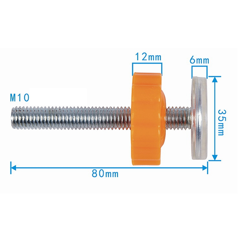 4PCS//lot Pressure Mounted Baby Gates Threaded Spindle Rods Walk Thru Screw Tool