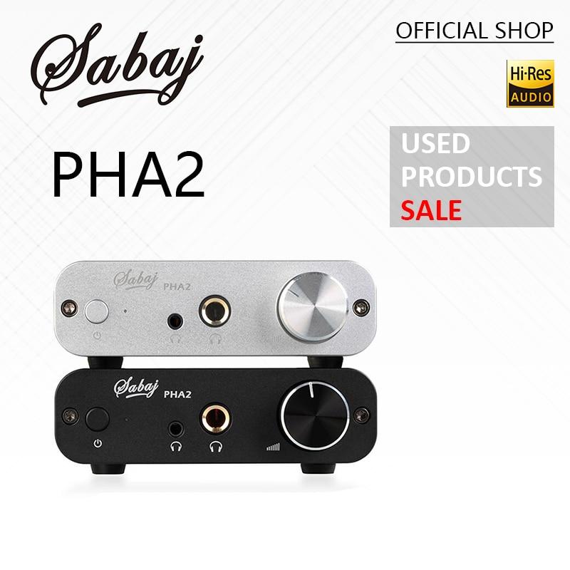 Produits d'occasion Sabaj Audio RCA Amplificateur casque PHA2 Portable maison Mini écouteurs Hifi casque écouteur ampli DAC