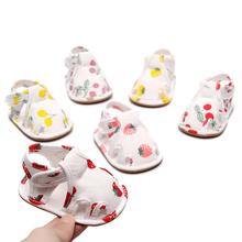 Soft Infant Toddler Shoes Cherry Strawberry Anti-slip Baby G