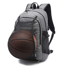 Basketball Backpack School Teenager Large 15.6 Laptop Bagpack Men Waterproof Anti Theft Backpacks USB Charger Shcoolbag