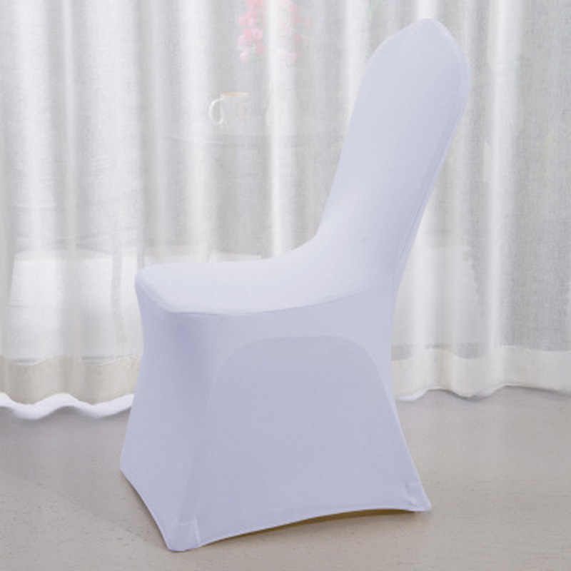330g Thicken Modern Wedding Chair Cover Spandex Stretch Elastic Banquet Chair Covers Dining Seat Hotel Chair Covers Outdoor