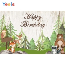 Safari Party Photophone Jungle Forest Wild Animal Woodland Backdrop Newborn Baby Birthday Photography Background Photo Studio