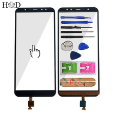 5.99 mobile mobile tela de toque móvel para leagoo z15 toque digitador da tela do painel de vidro frontal touchscreen ferramentas 3 m cola toalhetes