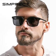 Мужские поляризационные солнцезащитные очки simprect tr90 квадратные