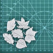 DiyArts sadzenia ramki umiera liście metalu wykrojniki Scrapbooking nowy 2019 Craft umiera szablon do wytłaczania Die Cut karta DIY Decor