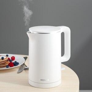Image 2 - KONKA bollitore elettrico 1.7L Grande capacità di 1500W intelligente di acqua bollitore controllo Preciso della temperatura