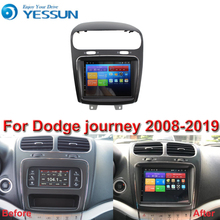 For Dodge journey 2008 2019 Car Android Multimedia Player Car Radio GPS Navigation Big Screen mirror link