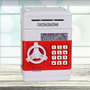 Deposit-Machine Money-Box Coins Piggy-Bank Safe Cash-Saving Digital Password Electronic