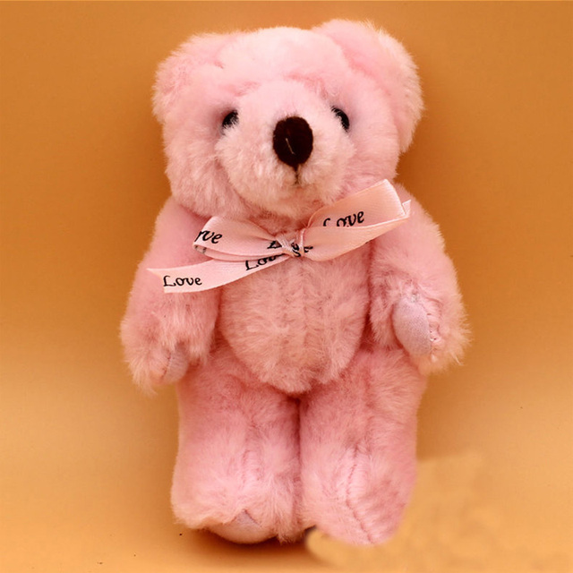 13cm 9 color joint teddy bear cute beautiful plush toy doll doll boy girl Christmas gift Stuffed animal cartoon plush toy WJ032 Uncategorized Decoration Stuffed & Plush Toys Toys