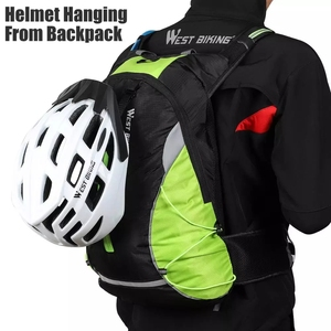 Image 3 - מערב רכיבה על אופניים Ultralight אופניים תיק נייד עמיד למים ספורט תרמיל 10L חיצוני טיולי טיפוס פאוץ רכיבה על אופניים תרמיל