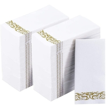 Hand-Towels Absorbent-Paper for Guest Bathroom Wedding Disposable Soft