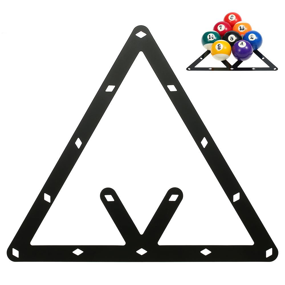 6pcs 1pcs Magic Ball Rack Billard Rack Sheet Cue Ball Rack Triangle Cue Ball Accessoire 8//9//10 Ball Combo Pack