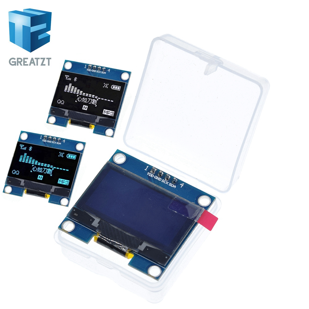 4PIN 1.3 OLED Module White/blue Color 128X64 1.3 Inch OLED LCD LED Display Module 1.3