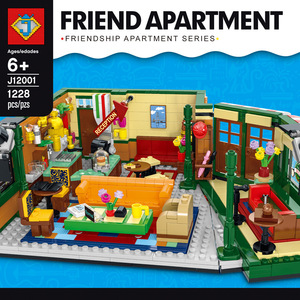 in stock lepines Friends Classic TV American Drama Friends Central Perk Cafe Fit Model Building Block Bricks 21319 Toy Gift