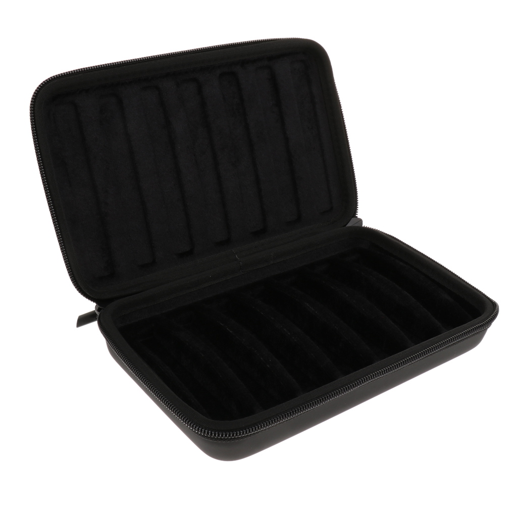 10 Holes Harmonica Storage Bag Holder Container For 7x Harmonicas Musical Instrument Parts