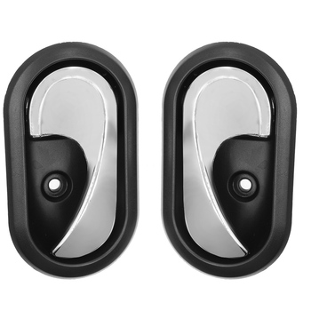 Car Interior Door Handles Inside Inner Door knob For Renault LOGAN DACIA Duster Sandero 2012 2013 2014 2015 2016 OEM:8200733848 image