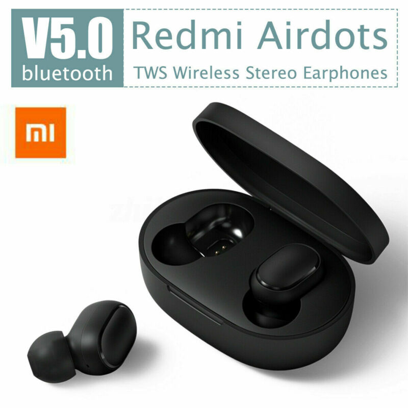 TWS Earbuds PortableSport Life Waterproof For Xiaomi Redmi Airdots Headset Bluetooth V5.0 Earphone With Charging Dock