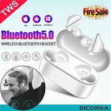 Wireless  Bluetooth TWS 5.0  Earphones Mini HD Stereo Surrounding  In-Ear Earbuds Fashion Earphones For Sports Leisure Life недорого