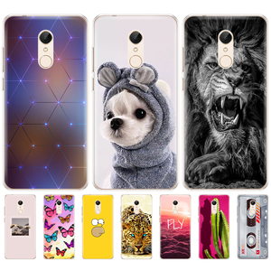 Image 2 - Silikon telefon Fall Für Xiaomi Redmi 5 5,7 zoll Xiaomi Redmi 5 Plus 5,99 Inch Fall für hongmi Redmi 5 plus fation telefon shell